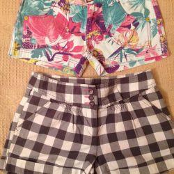 Shorts 40-42r. Cotton