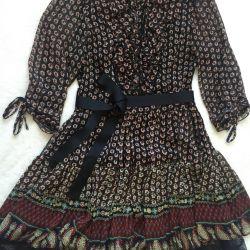 Μεταξωτό φόρεμα, έτος 42-44