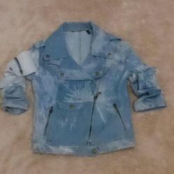 Yeni denim ceket