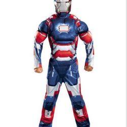 Suit Iron Man Patriot Muscular
