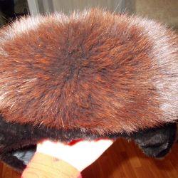 Pălăria de vulpe de blană