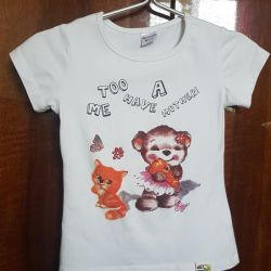 T-shirt cotton for 3-4 years