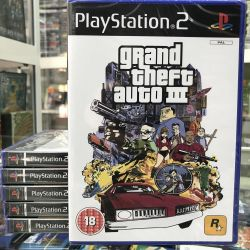 Grand theft auto 3 игра для Playstation 2