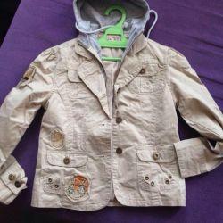 Курточка- пиджачок для девочки