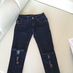Jeans with bows 25 р-о