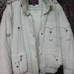 Куртка зимова на пір'ї