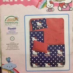 Постільна білизна (КПБ) Hello Kitty новий