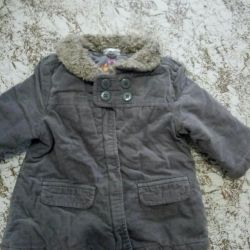 Jacket for a girl (9-12 months)