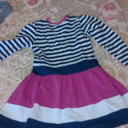 Jersey dress na3-4goda for girls