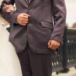 Мужской свадебный костюм брюки ,рубашка,галстук