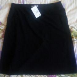 Skirt.Trapedion.Tricotage.Lavira