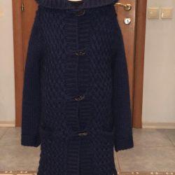 knitted coat blumarine