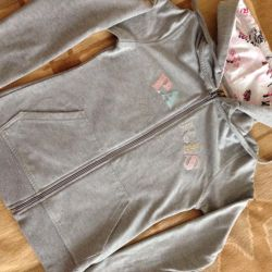 Hoodie / Sweatshirt with zipper 40-42r.