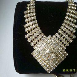 Necklace + earrings + bracelets