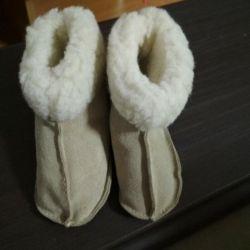 Doğal kış botları