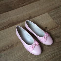Ballet Flats New Genuine Leather