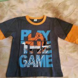 Νέο μπλουζάκι με μακριά μανίκια
