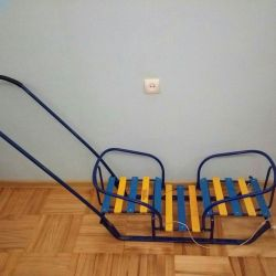 Sleds for twins