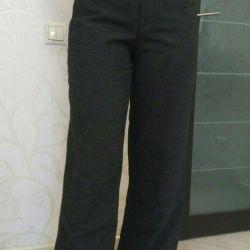 Παντελόνι παντελόνι γυναικών ζεστό