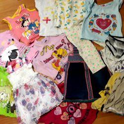 1-2 yaş kız için bir paket