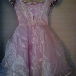 Pembe elbise 5-7 yaş