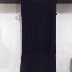 J.P.G платье-сетка