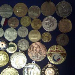 Diferite medalii