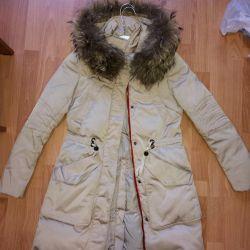 Jacket down jacket park winter fur