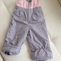 Полукомбинезон штаны