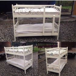 Two bunk bed 80/200 for children and teenagers
