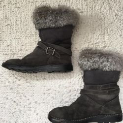 Winter boots GF Ferre on the girl p. 31