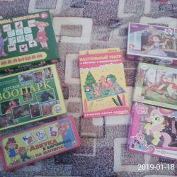 Board games. New
