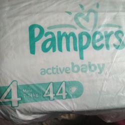 Pampers actuvebaby 4 (7-14)