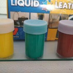 Deri ürünleri ve ürünlerin onarımı için sıvı deri