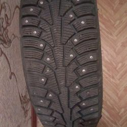 New winter tires with alloy wheels set
