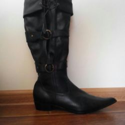 Cossacks boots new leather 40