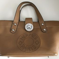 Bag made of genuine leather