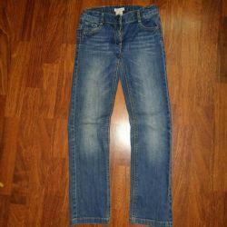 Kız için kot pantolon, Deux par deux, 8-9 yıl
