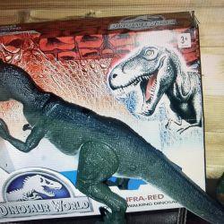 Uzaktan kumandadaki yeni dinozor