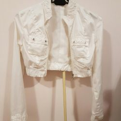Short summer jacket-windbreaker
