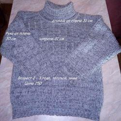 Свитер + пайта + свитер