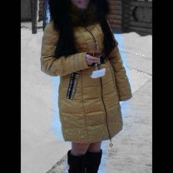 Winter down coat