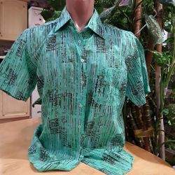 Men's shirts with short sleeves., New