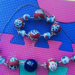 Exclusive, new set of jewelry.