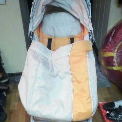 Bebek arabası bir baston. Bebek Bakımı Yeni.