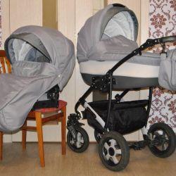 Kamarrello bebek arabası 2'si 1 arada