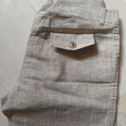 Linen trousers for women