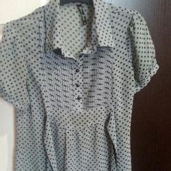 Μπλούζα, πουκάμισο, τζιν δόξας, μέγεθος S
