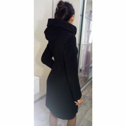 ELIS Wool Coat with Hood