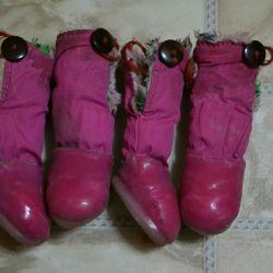 Ботиночки для маленькой собачки!